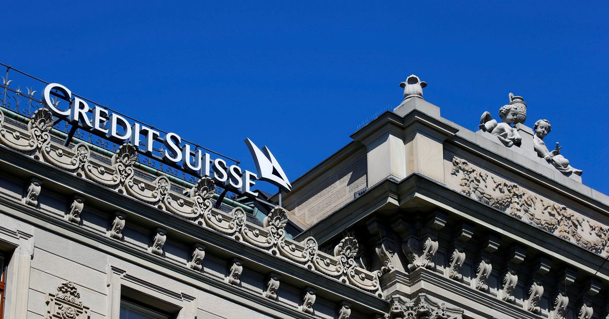 Credit Suisse identifies $2.3 bln of exposed assets in Greensill