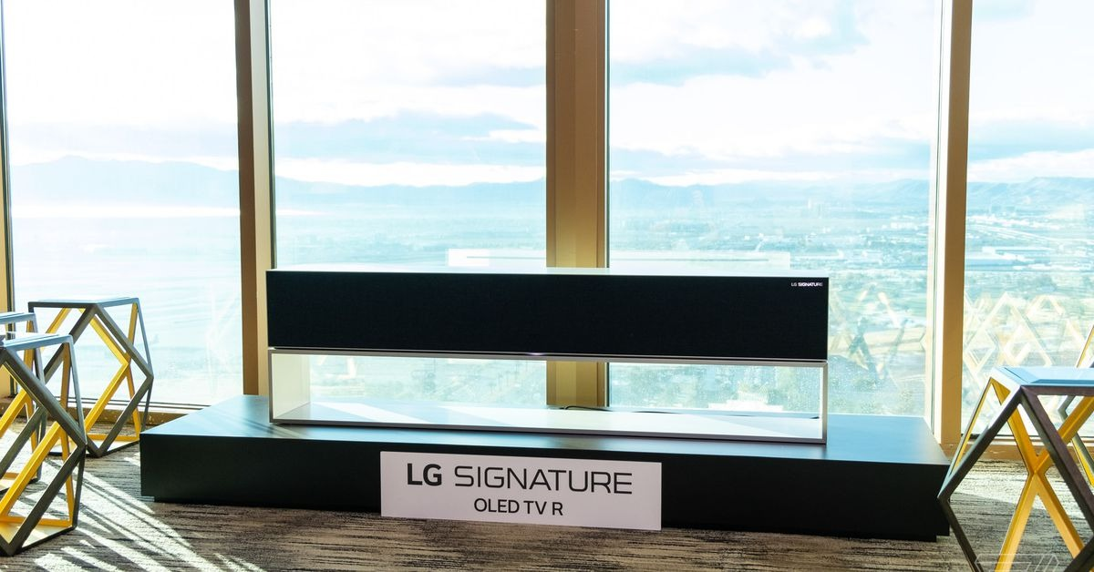 You can finally 'inquire to buy' LG's rollable TV in the United States